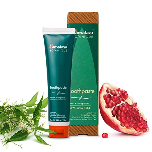 Himalaya Fluoride Free Toothpaste Organic