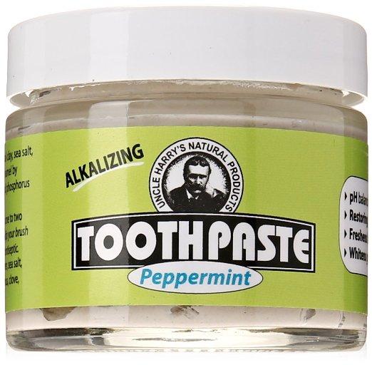 alkaline organic toothpaste