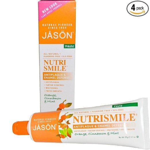 jason fluoride free toothpaste