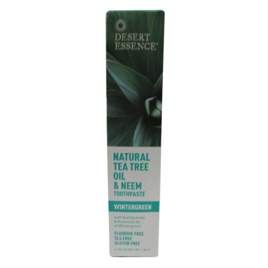 natural tea tree oil toothpaste