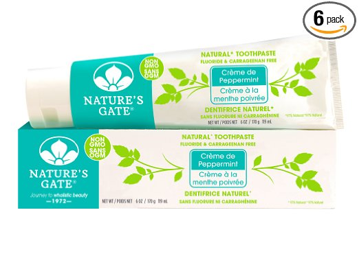 natures gate natural fluoride free toothpaste